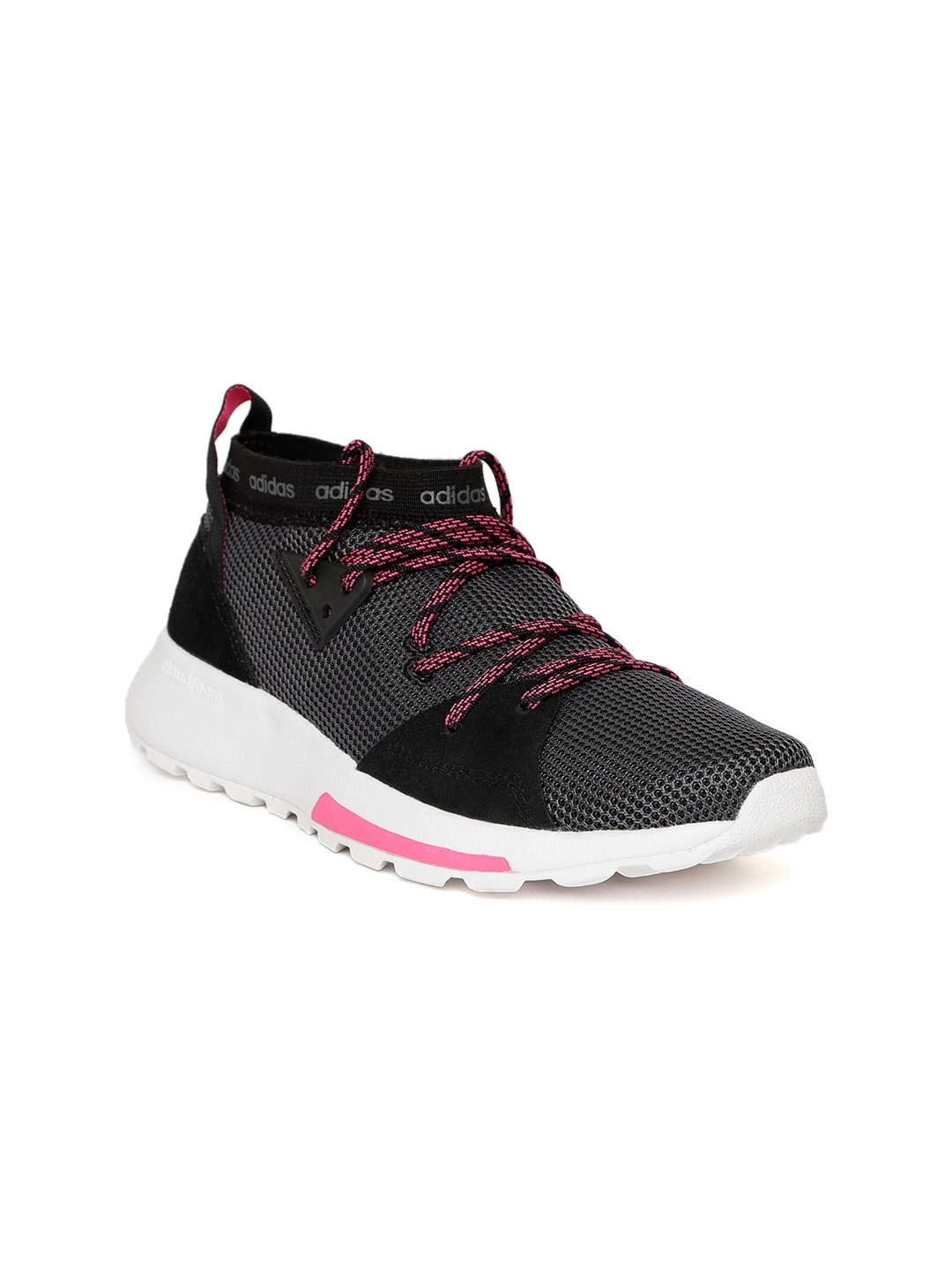242c716651c Buy ADIDAS Women Charcoal Grey QUESA Running Shoes - Sports Shoes ...