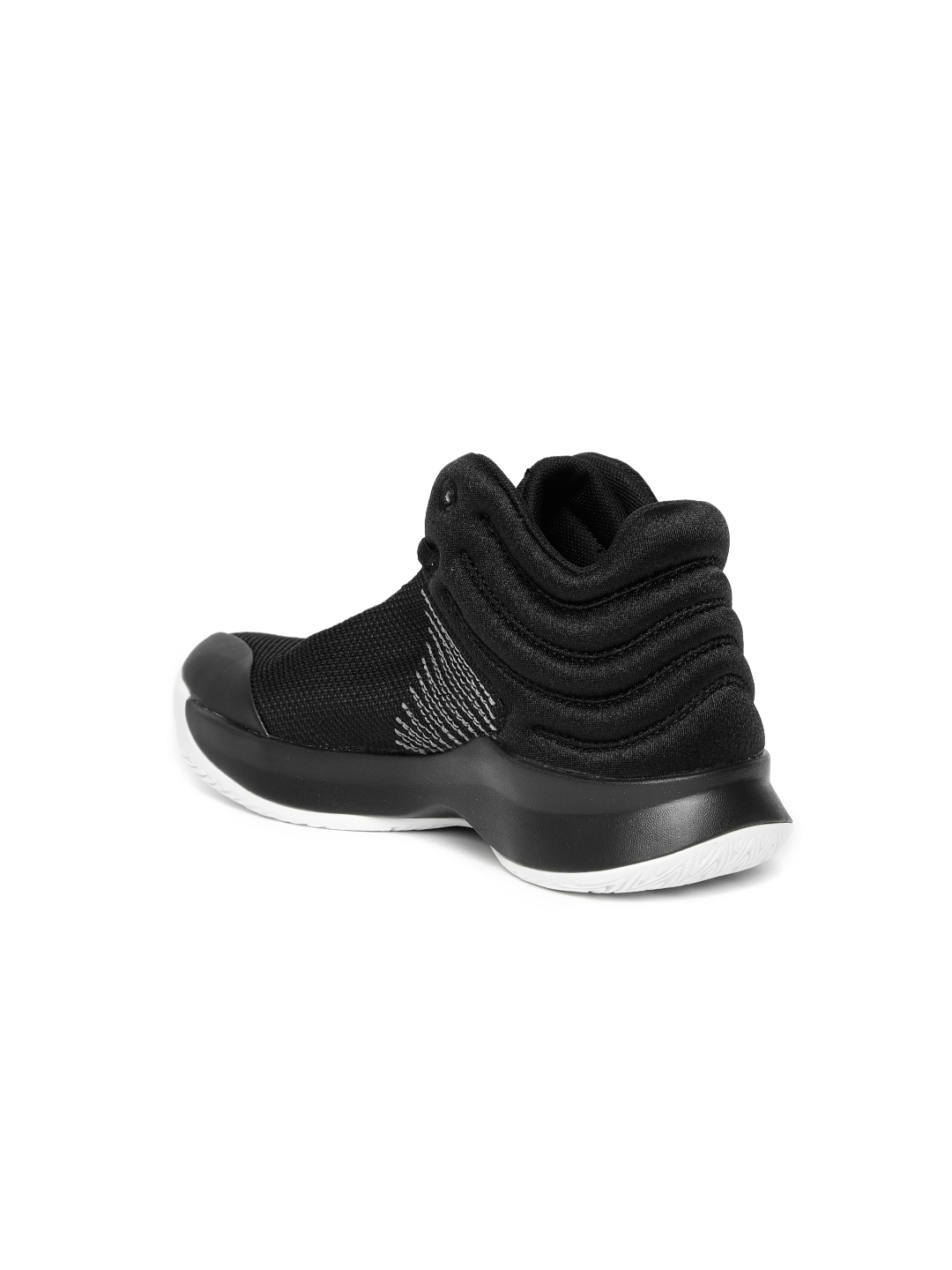 new product 530d6 bace3 ADIDAS Kids Black Pro Spark 2018 Basketball Shoes