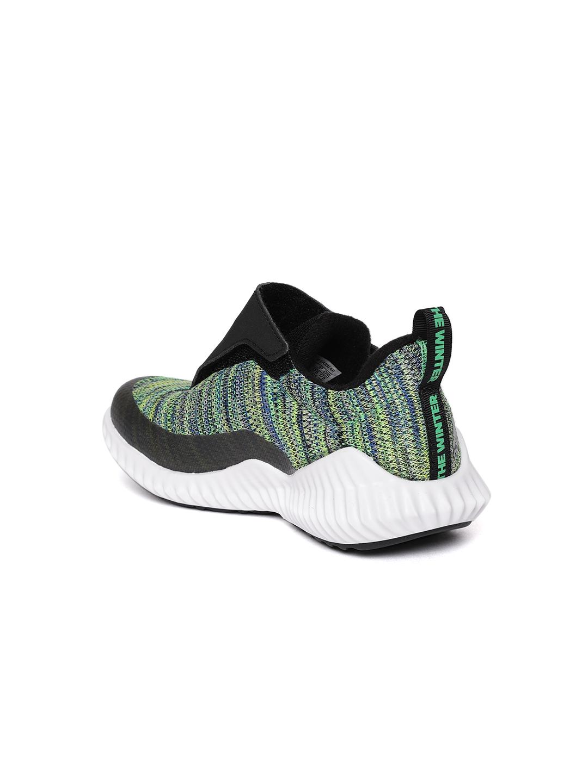 new product 693d3 46a53 ADIDAS Kids Green FORTARUN BTW AC Running Shoes