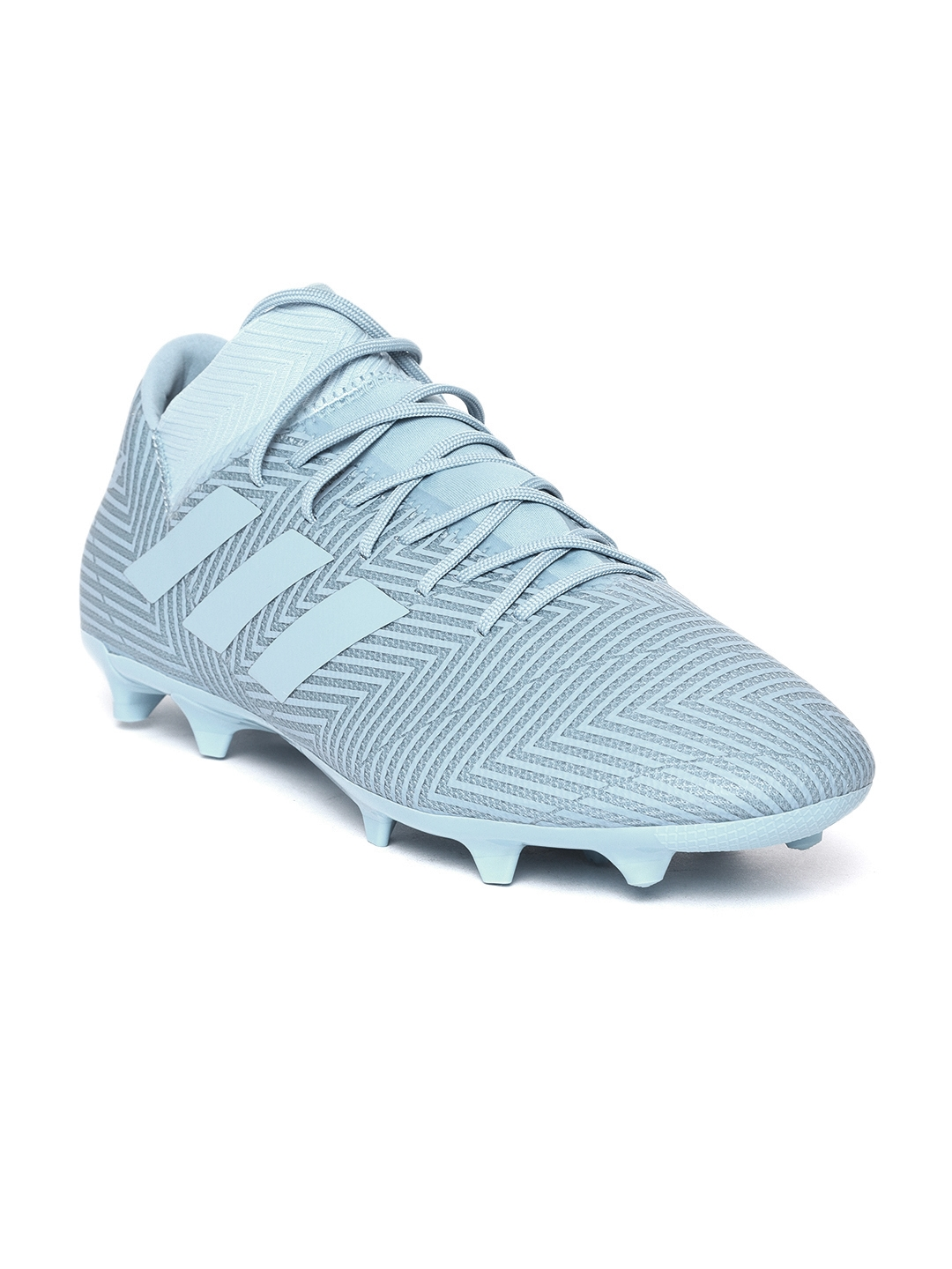 timeless design 045ca 0a8b5 ADIDAS Men Blue NEMEZIZ Messi 18.3 Firm Ground Football Shoes