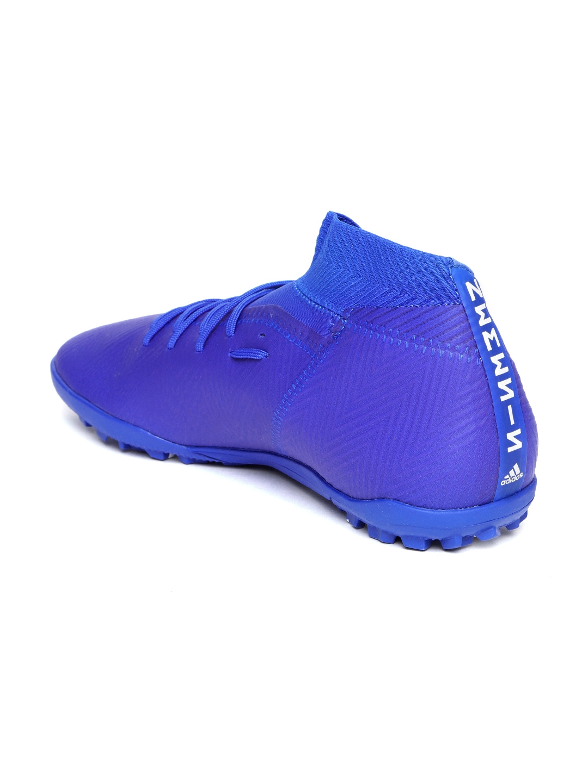 Buy ADIDAS Men Blue NEMEZIZ Tango 18.3 Turf Boots Football Shoes ... a8aedf99511