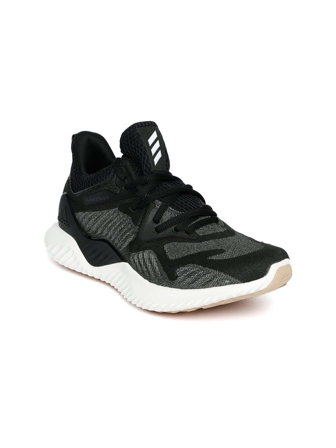29c25b4ca56eb Buy ADIDAS Women Black   Grey Alphabounce Beyond Running Shoes ...