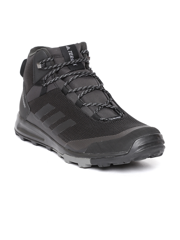 Buy Adidas Men Black TERREX TIVID Mid Climaproof Trekking Shoes ... 104158e2f1