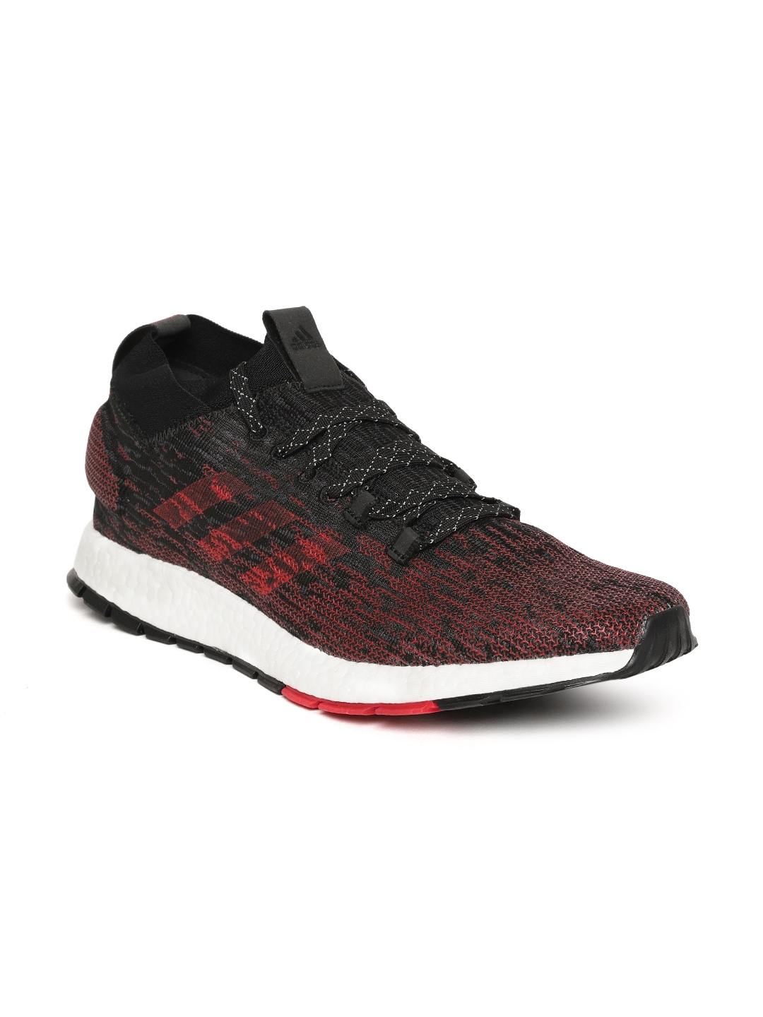 0f9c6f9b5eb Buy ADIDAS Men Red   Black Pureboost RBL Running Shoes - Sports ...