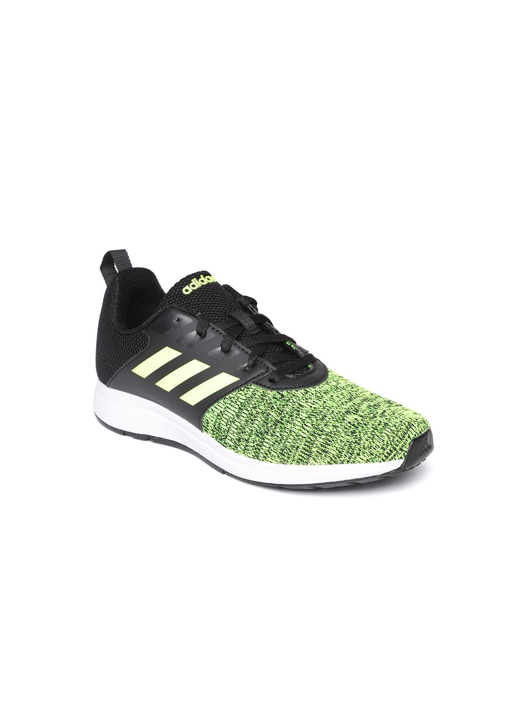 9cbd31c17a8d3a Buy ADIDAS Kids Fluorescent Green   Black Element V 6 Running Shoes ...