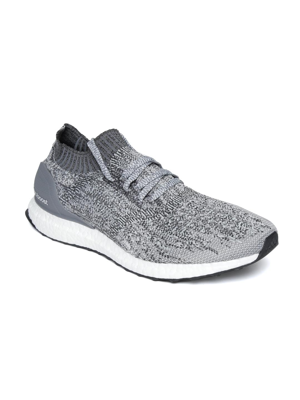 info for b4f8c b0c0f ADIDAS Men Grey Ultraboost Uncaged Running Shoes