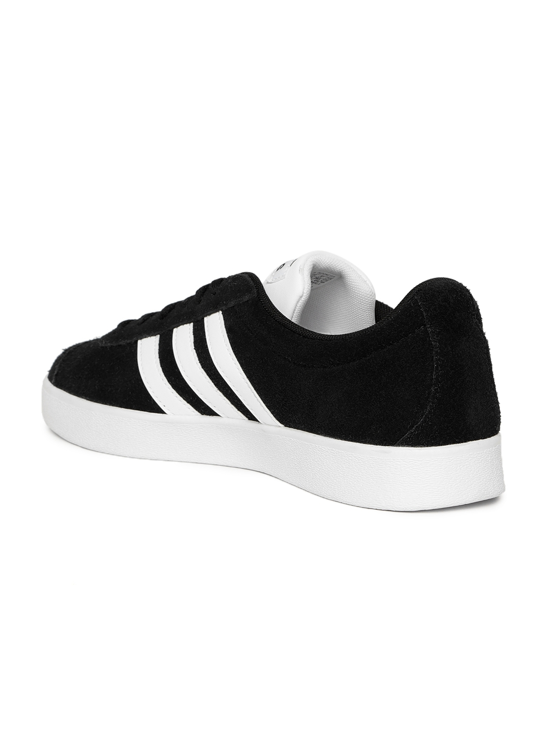 more photos 3908a f4df4 ADIDAS Originals Men Black VL Court 2.0 Skateboarding Shoes