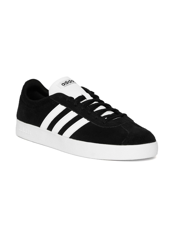 ADIDAS Originals Men Black VL Court 2.0 Skateboarding Shoes