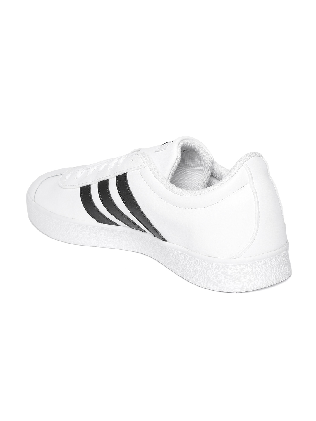 383ad6febd3d Buy ADIDAS Originals Men White VL Court 2.0 Leather Skateboarding ...