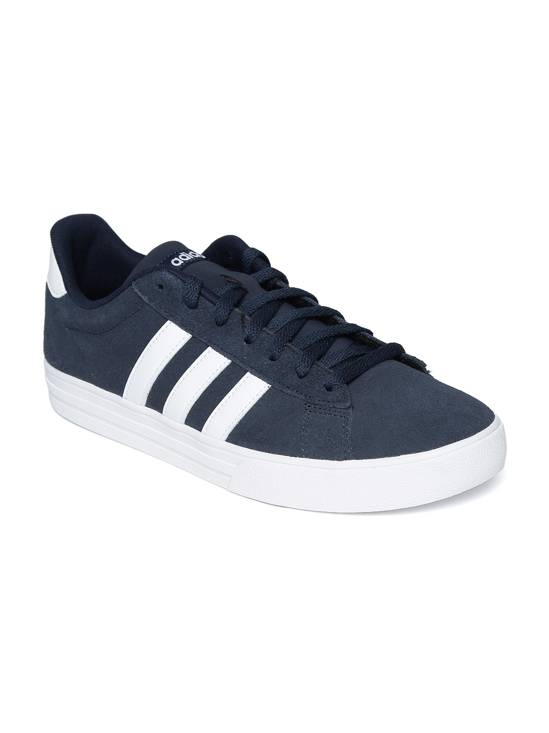 low priced 3a860 01a72 Adidas Men Navy Blue DAILY 2.0 Basketball Shoes