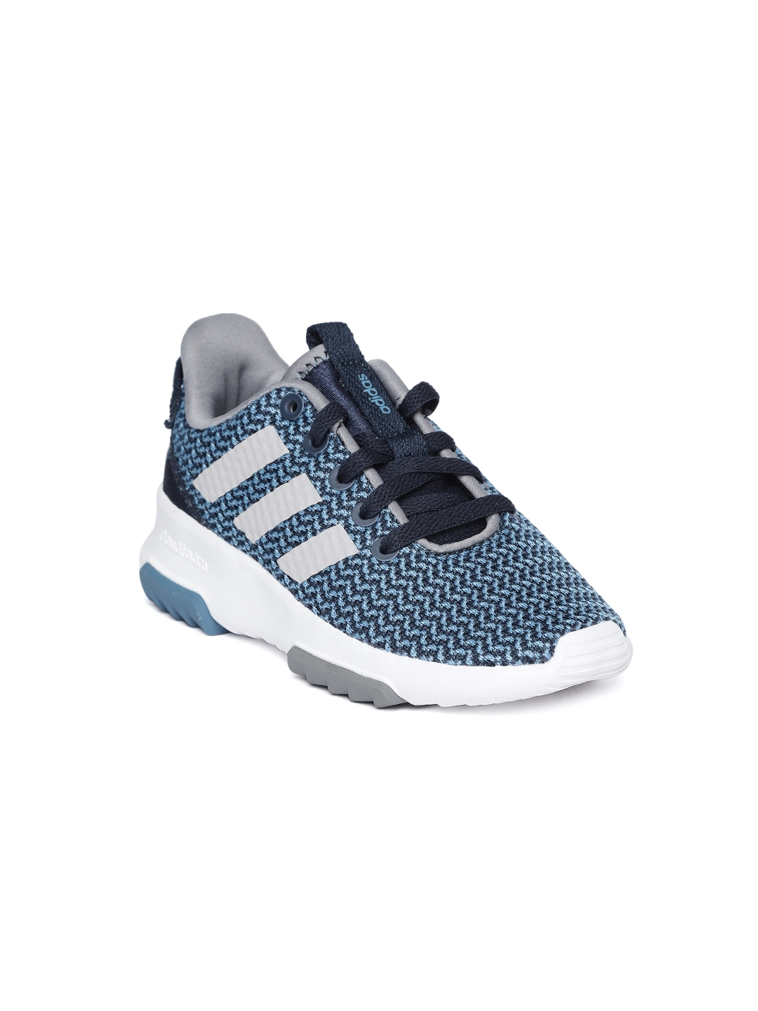 829eef628f254 Buy ADIDAS Kids Blue Cloudfoam Racer TR Running Shoes - Sports Shoes ...
