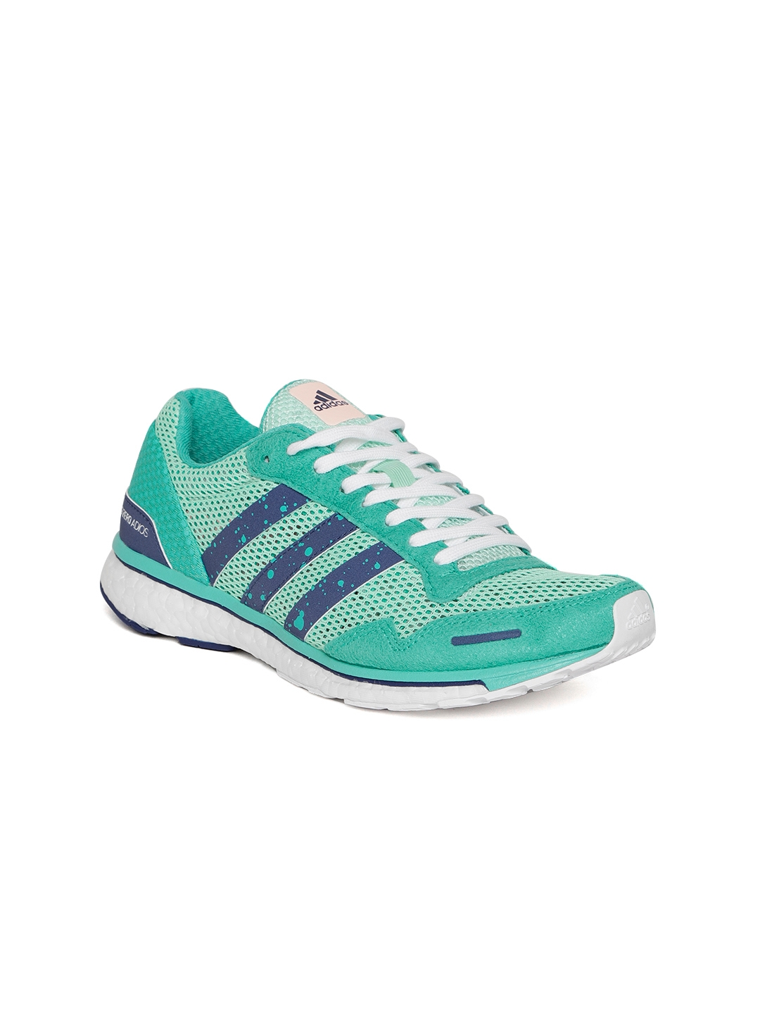 2dae255a8ced4 Buy ADIDAS Women Green Adizero Adios 3 Running Shoes - Sports Shoes ...