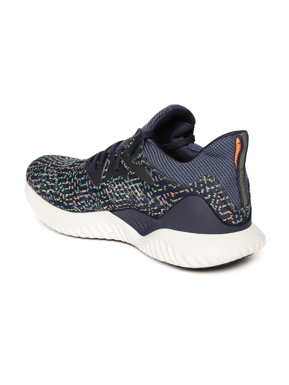 huge discount 087d5 3c604 ADIDAS Men Navy Blue Alphabounce Beyond CK Woven Design Running Shoes