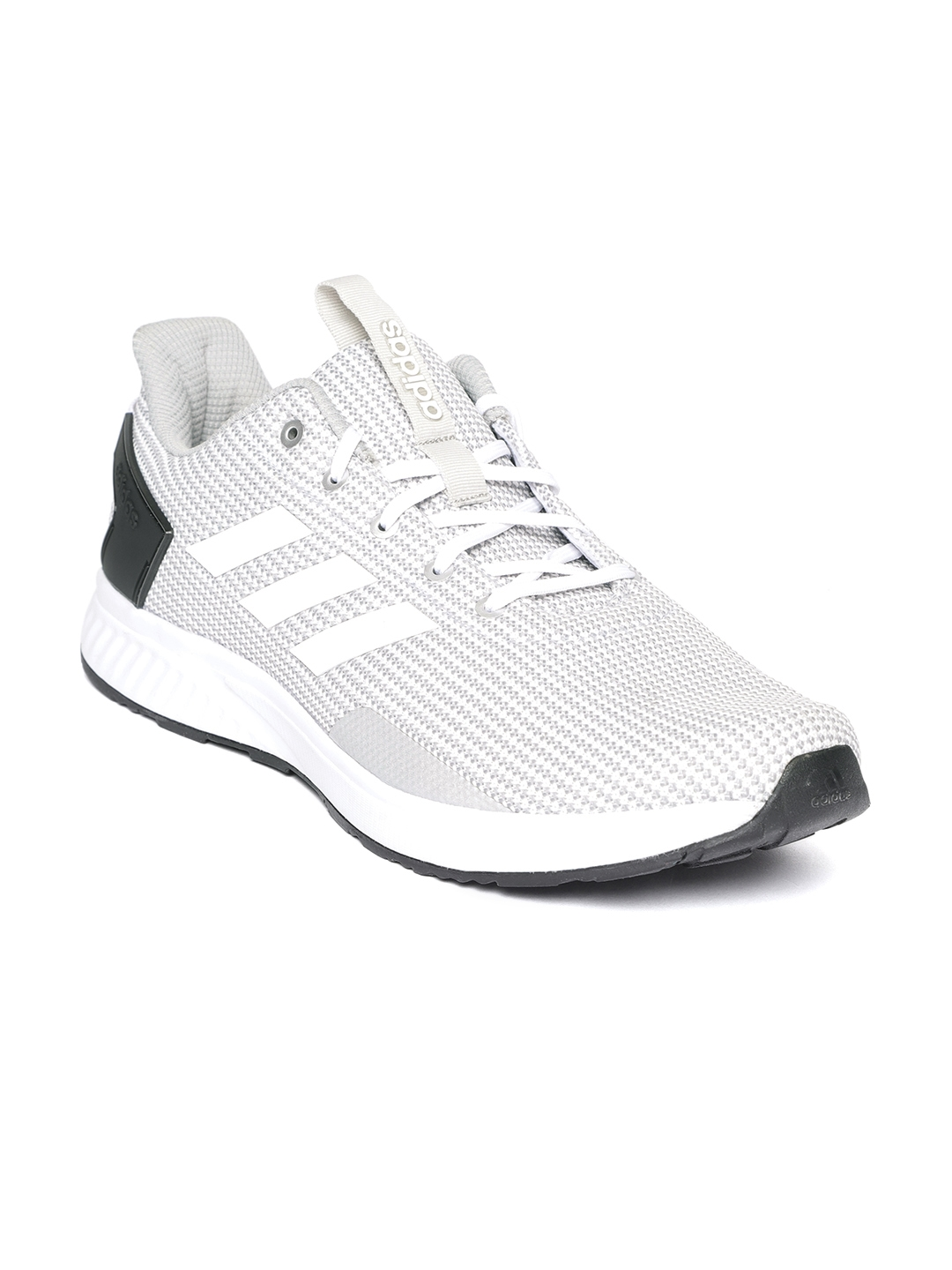 finest selection 7dcf9 8ee3f ADIDAS Men Grey  White FURIO 1.0 Running Shoes