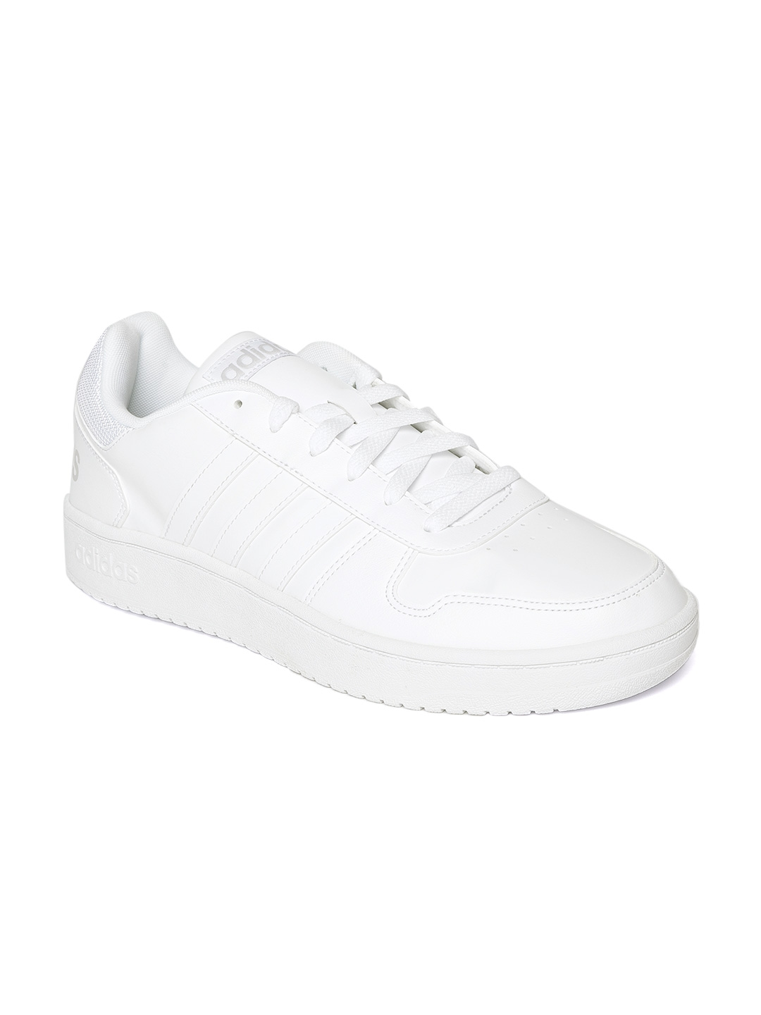 43b5e0a97881 Buy ADIDAS Men White Hoops 2.0 Basketball Shoes - Sports Shoes for ...