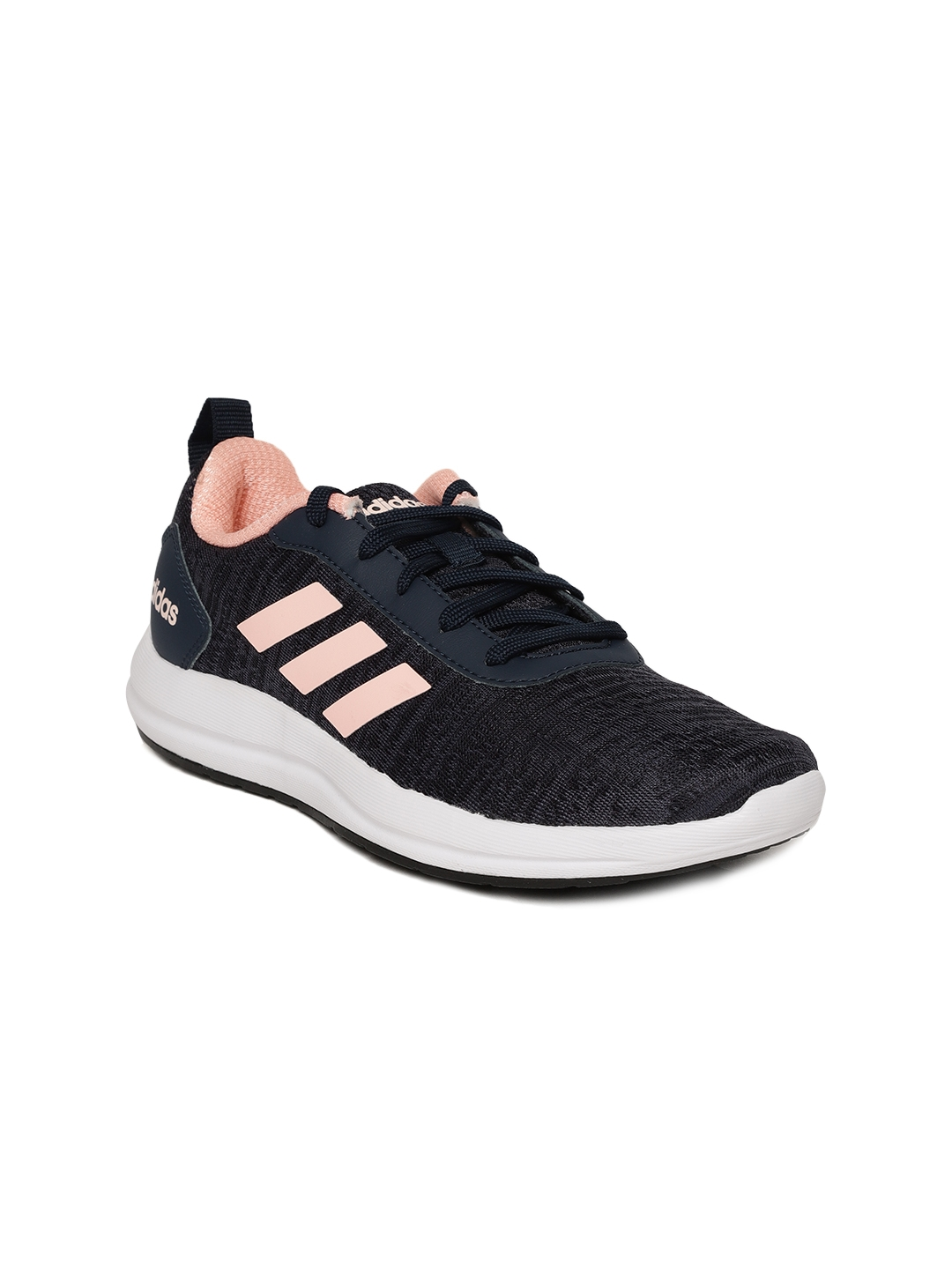 e2fc7ccb7ab Buy ADIDAS Women Navy VIDELL Patterned Running Shoes - Sports Shoes ...