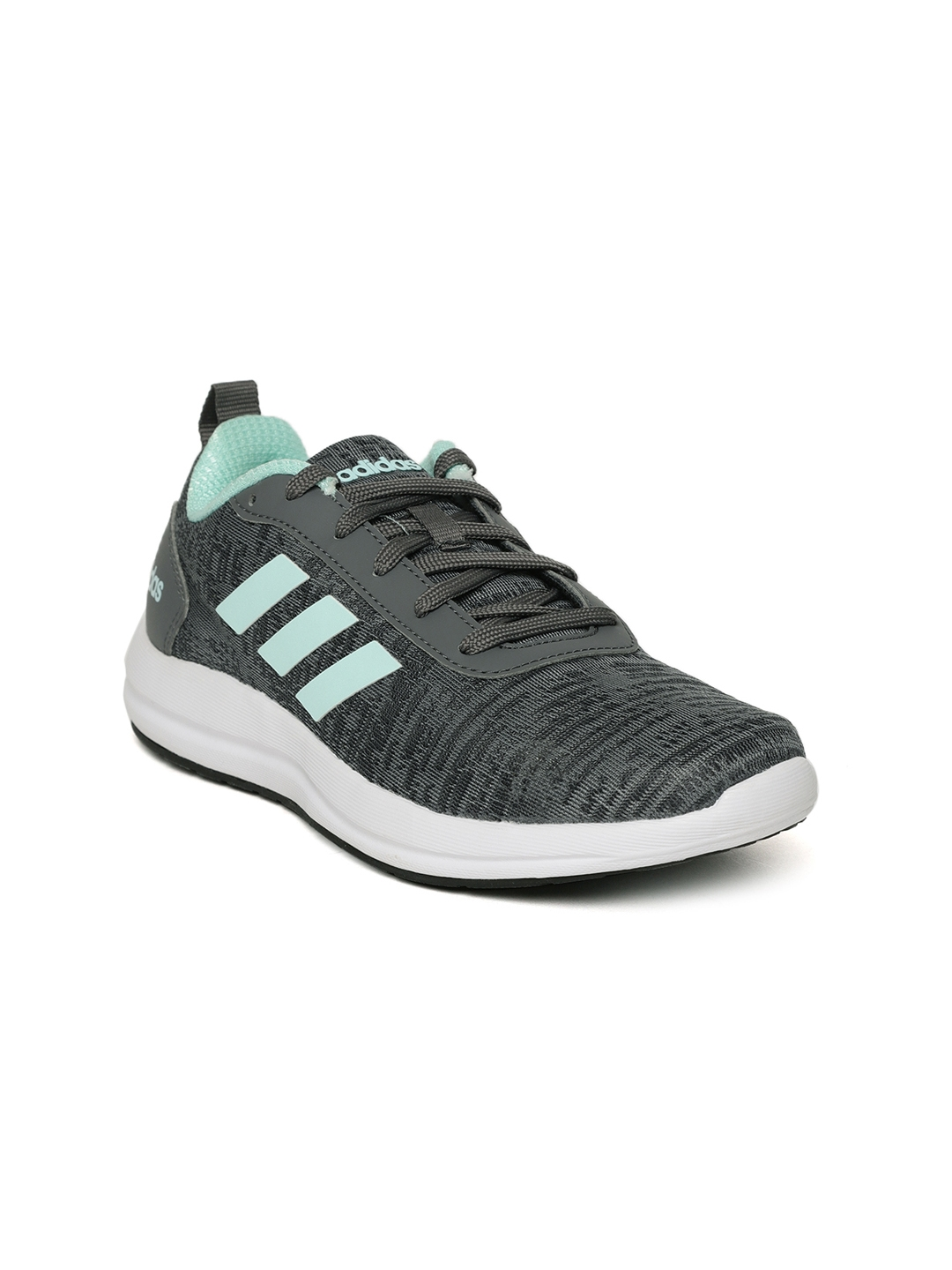 74ec993ba6359 Buy ADIDAS Women Grey VIDELL Patterned Running Shoes - Sports Shoes ...