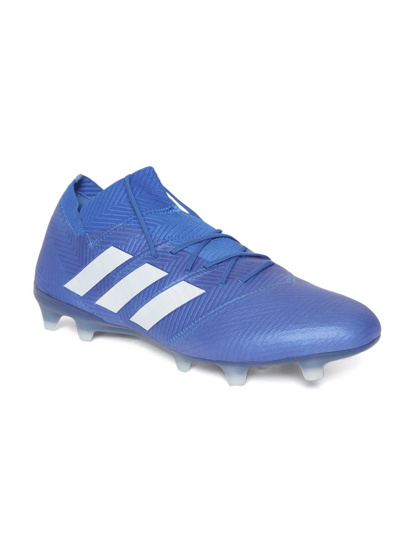 b4b44e8f3164 Buy ADIDAS Men Blue Nemeziz 18.1 Firm Ground Football Shoes - Sports ...