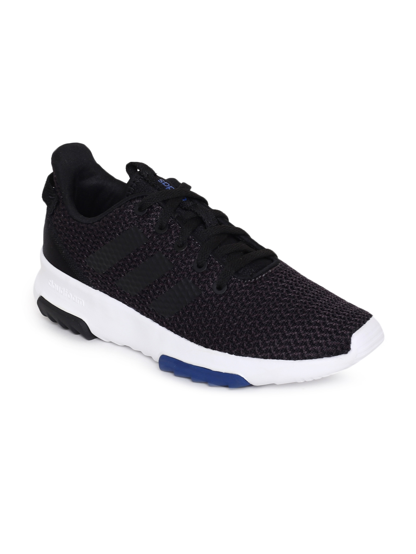 97b581169dc53b Buy ADIDAS Kids Black Solid CF RACER TR K Running Shoes - Sports ...