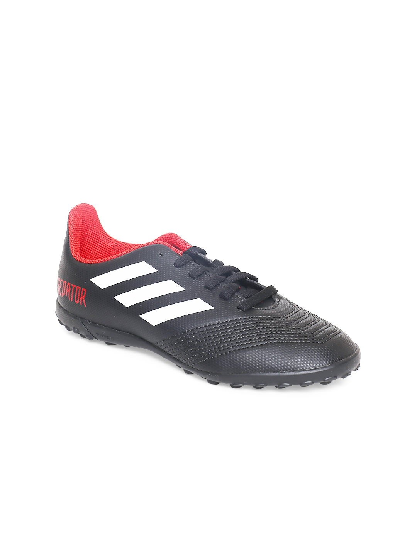buy online 60904 d3c17 ADIDAS Boys Black Predator Tango 18.4 Turf Football Shoes