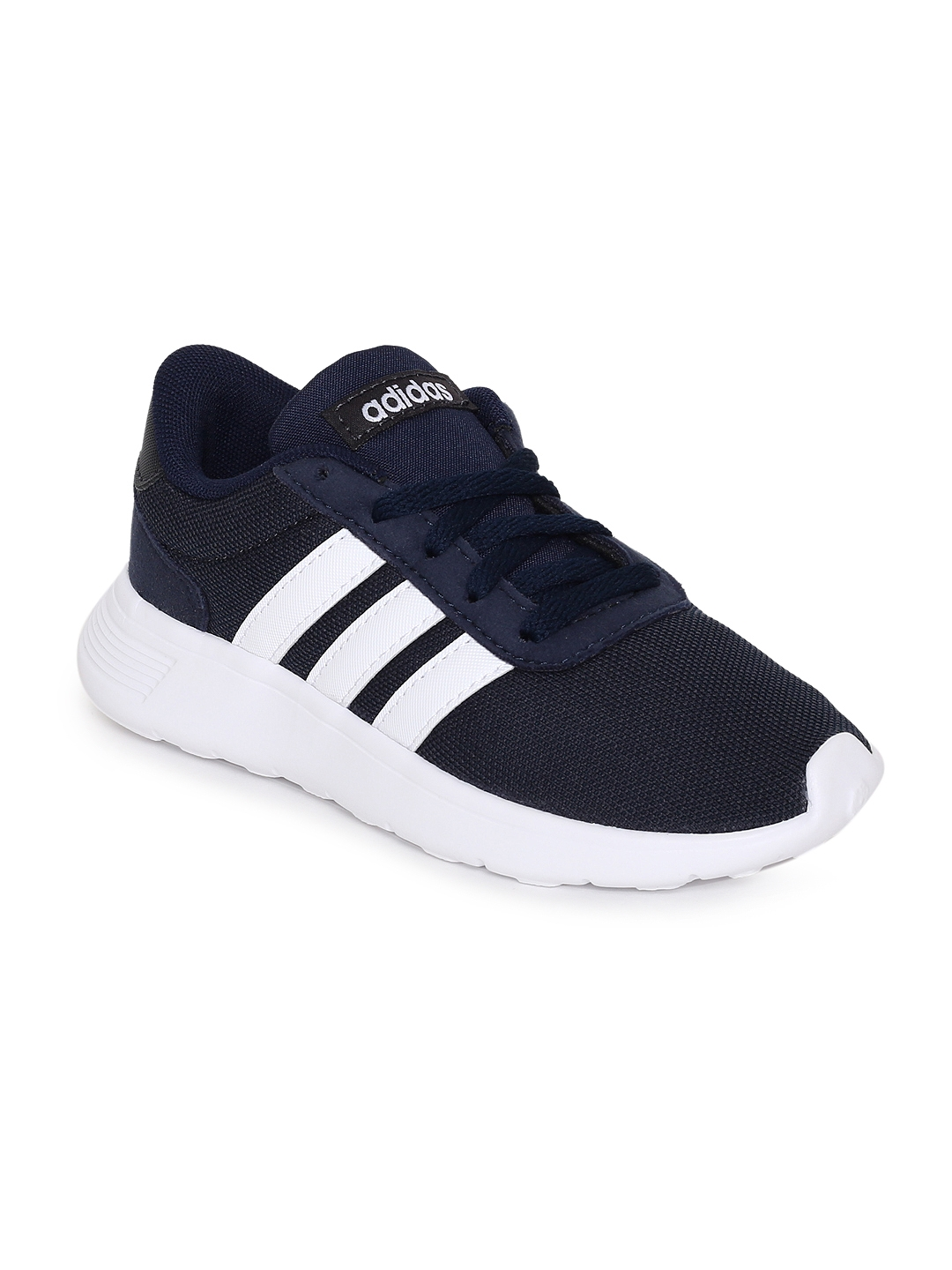 best sneakers 70fb8 b1dfd ADIDAS Kids Navy Blue Solid Lite Racer K Running Shoes