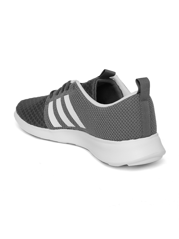 472d46f8dd1 Buy ADIDAS Men Grey Cloudfoam Swift Racer Running Shoes - Sports ...
