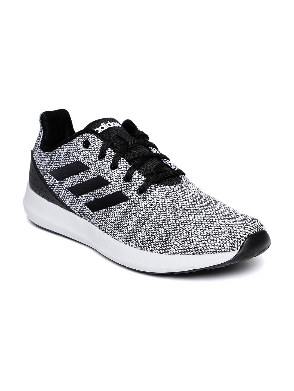 56c2d0f7a Buy ADIDAS Men Black   White RADDIS 1.0 Running Shoes - Sports Shoes ...