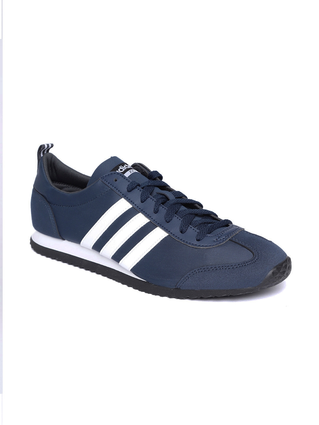 the sale of shoes website for discount new lower prices ADIDAS Men Navy Blue VS Jog Running Shoes