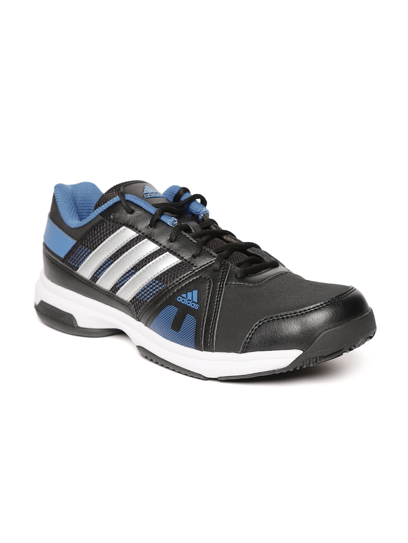 Buy ADIDAS Men Black Smash IND Tennis Shoes - Sports Shoes for Men ... 07a1568d84f7