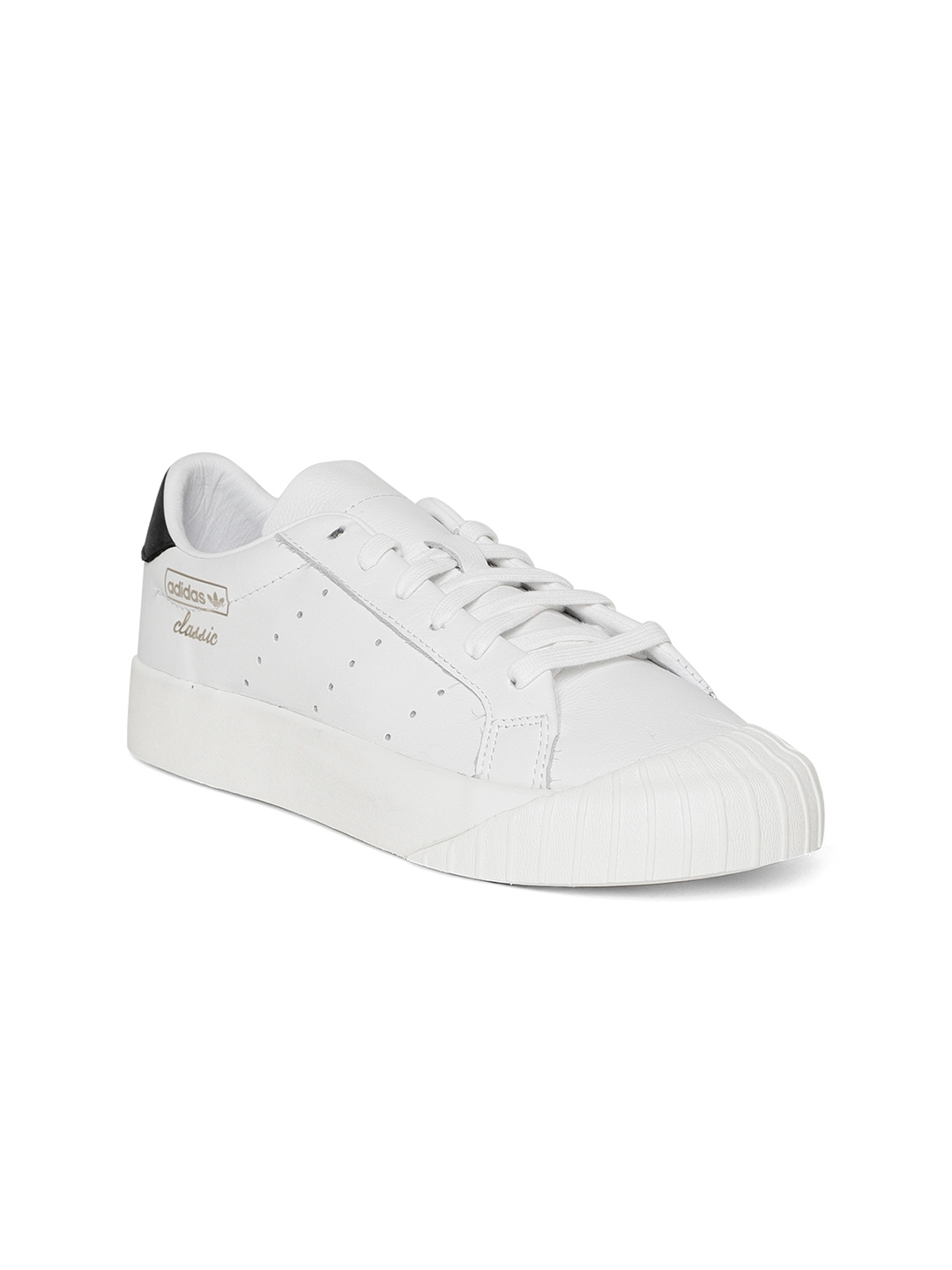 the best attitude effe3 0904a ... order adidas originals women white everyn leather sneakers 62023 df5da