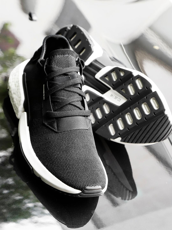 new product 2d423 73933 ADIDAS Originals Men Black POD-S3.1 Sneakers