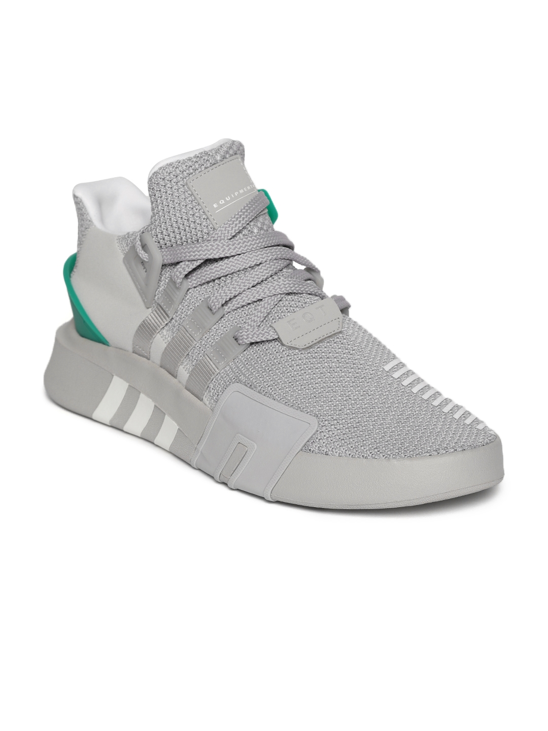 super cute d1802 7e3d9 ADIDAS Originals Men Grey EQT BASK ADV Sneakers
