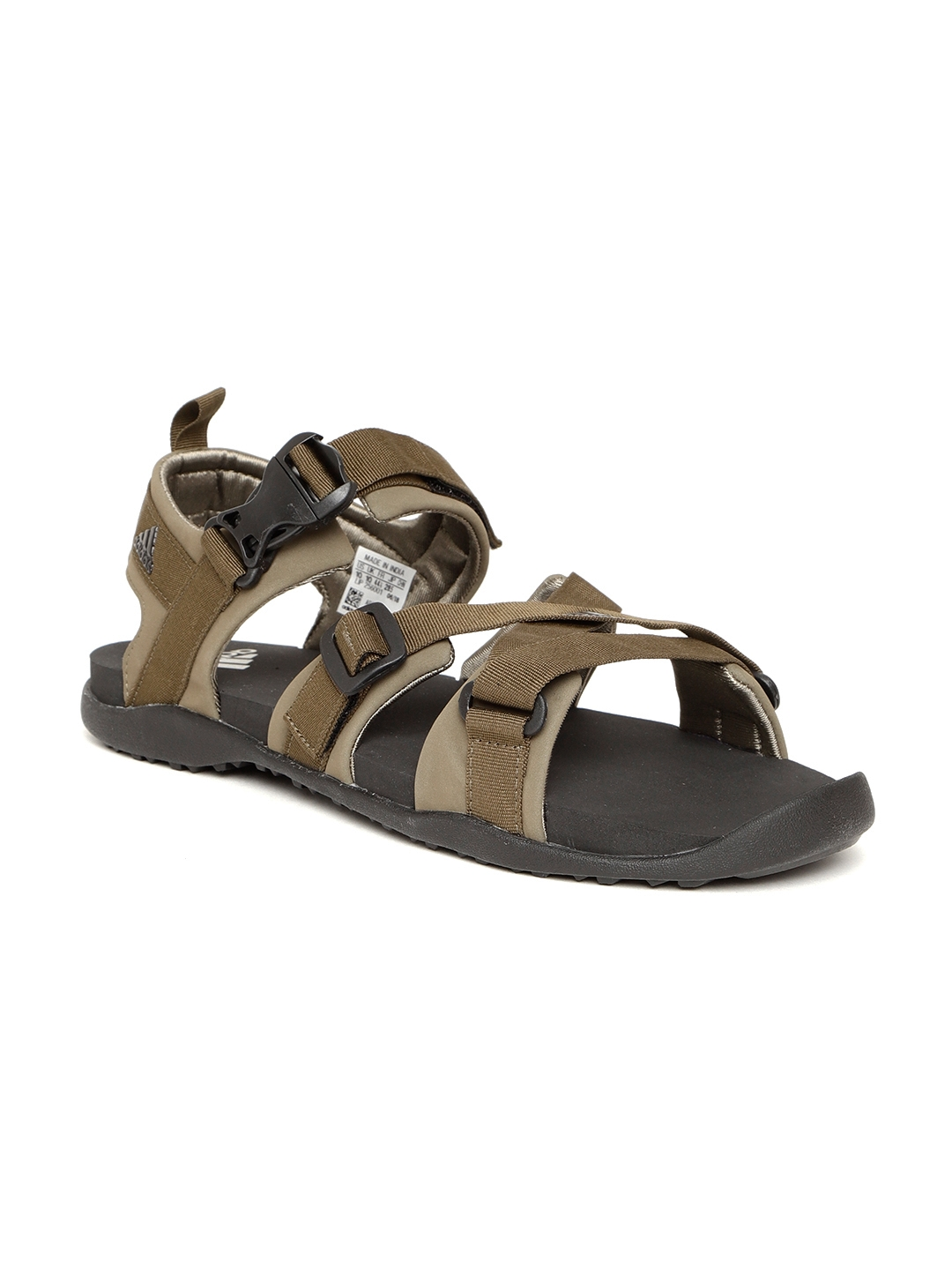 68fa4e078 Buy ADIDAS Men Olive Brown Gladi Sports Sandals - Sports Sandals for ...