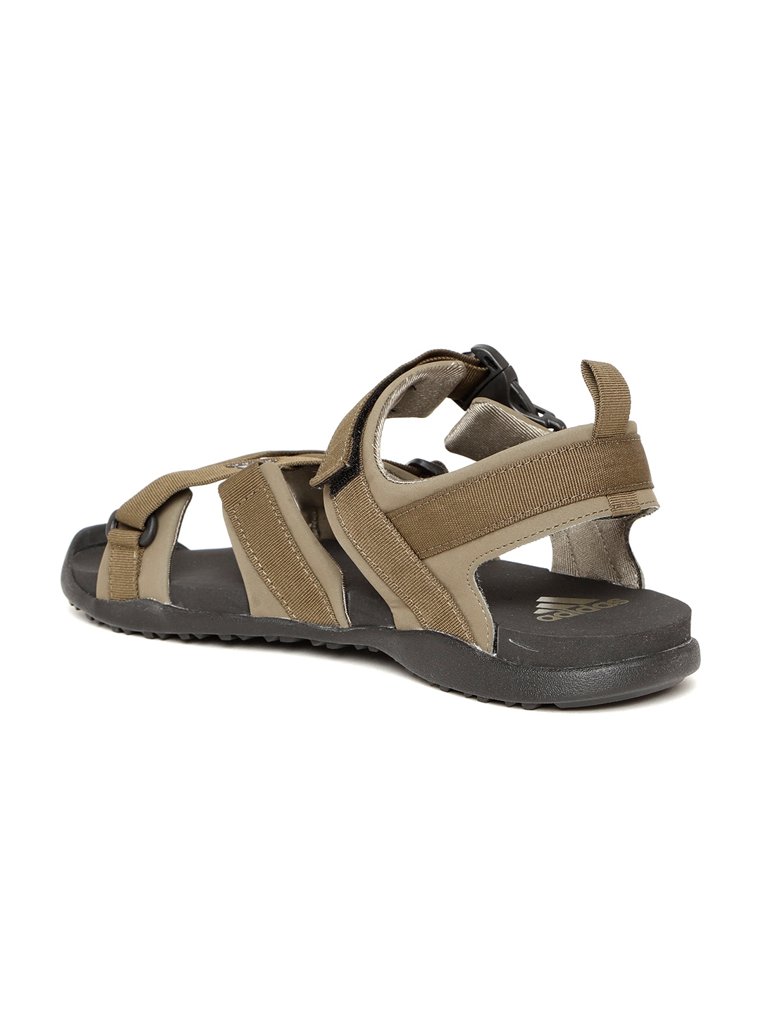 24b6f9e5ef0e Buy ADIDAS Men Olive Brown Gladi Sports Sandals - Sports Sandals for ...