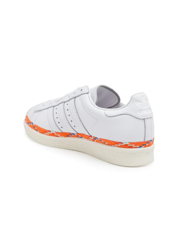 8fbabf93c0dc Buy ADIDAS Originals Women White Superstar 80S New Bold Sneakers ...