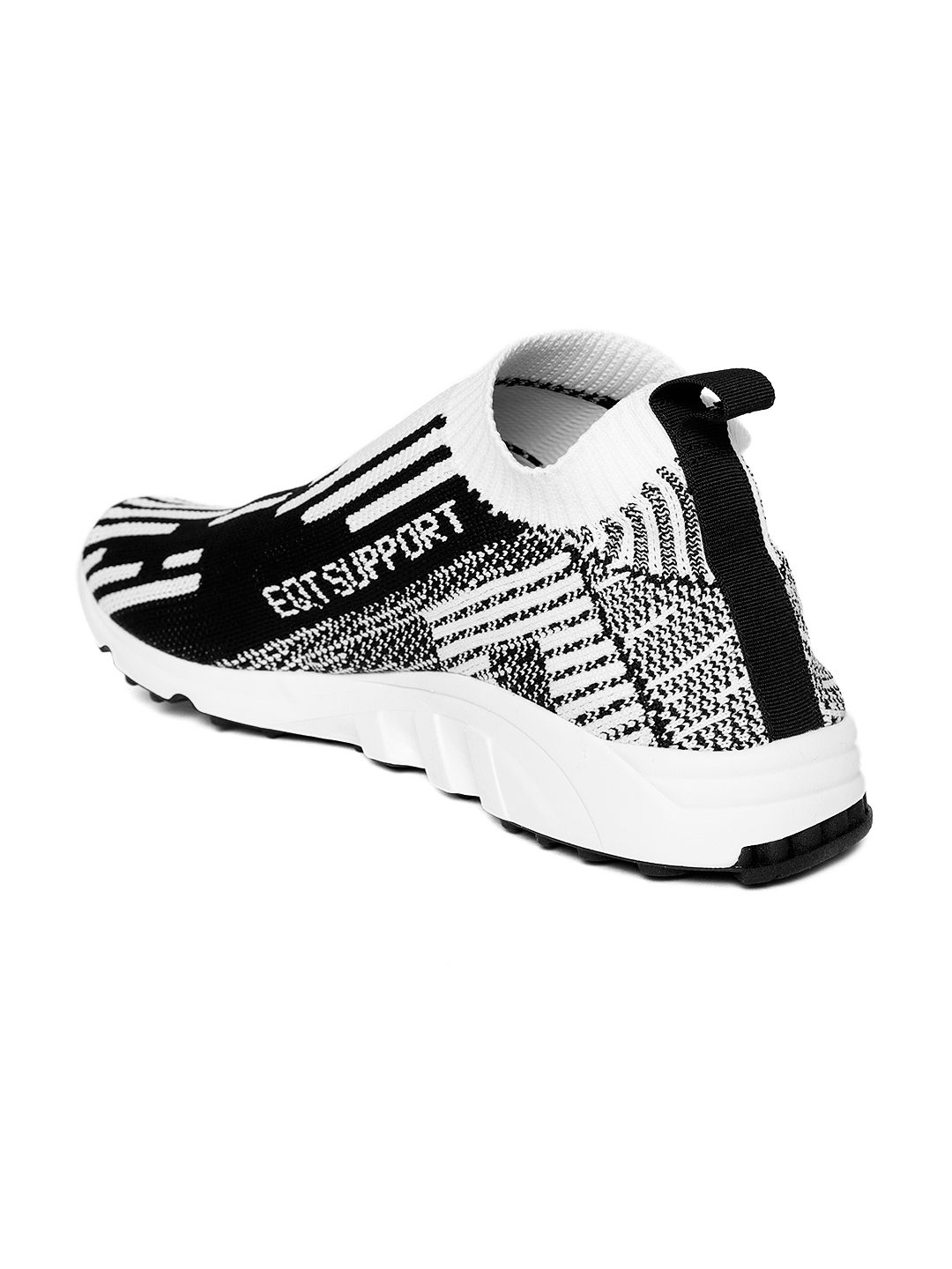 33123830030b ADIDAS Originals Men White   Black EQT Support SK PK Patterned Sneakers