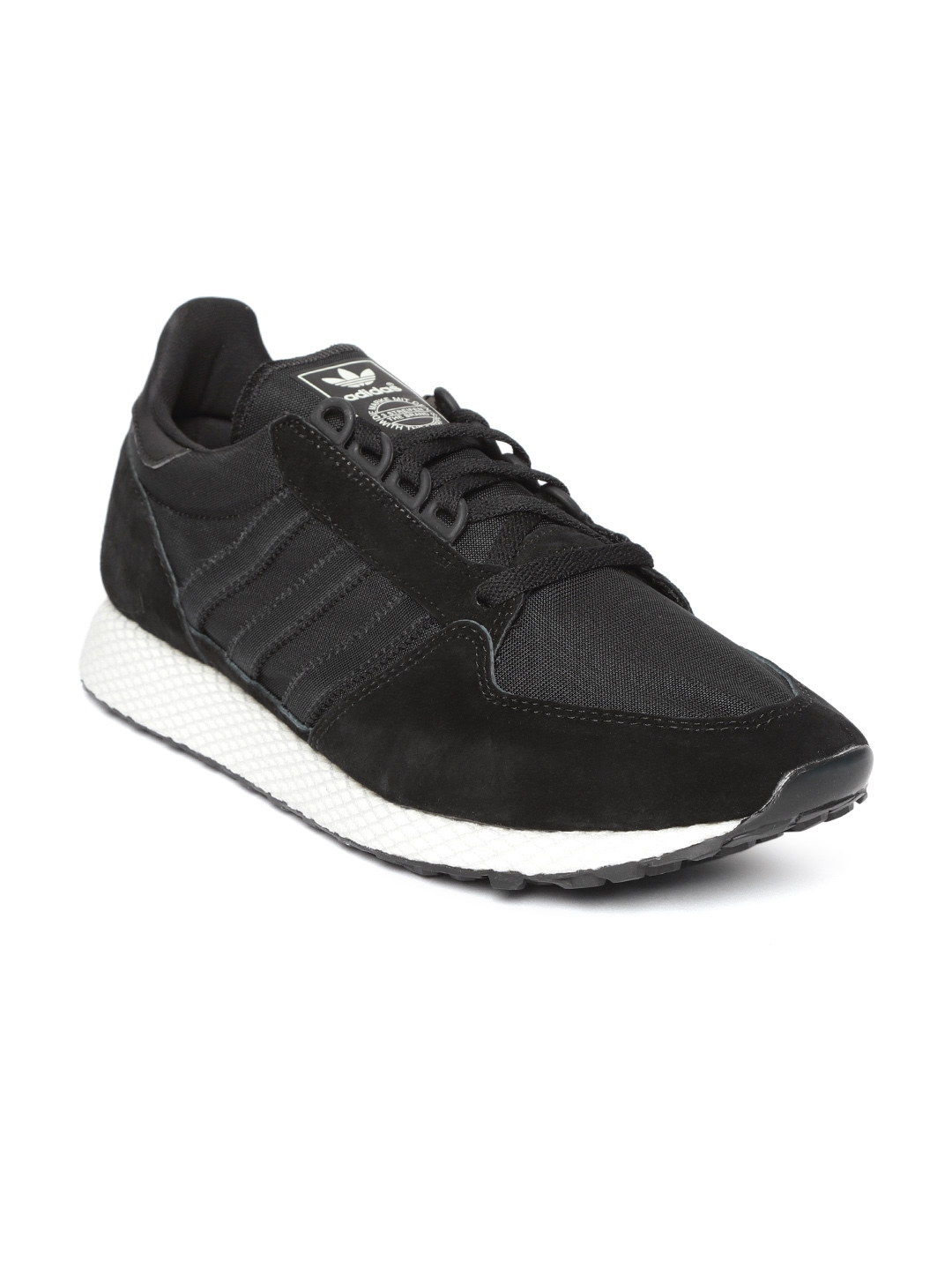 release date: d7ff5 acb52 Buy ADIDAS Originals Men Black Forest Grove Sneakers - Casual Shoes for Men  6842335  Myntra