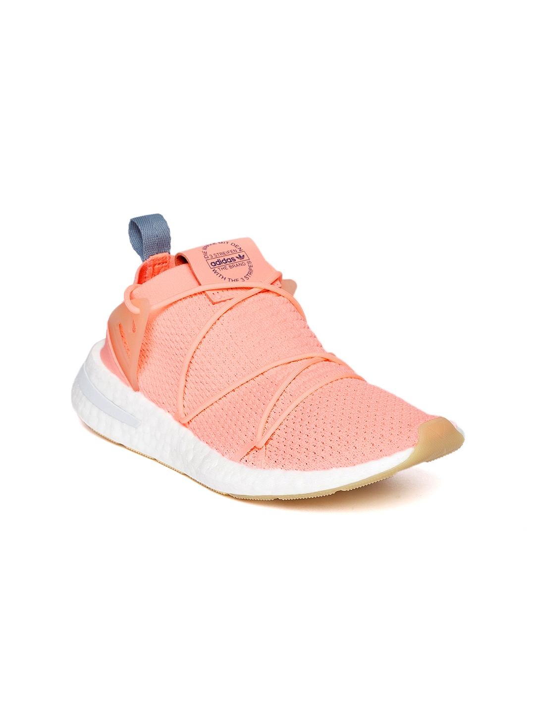 Buy ADIDAS Originals Women Peach Coloured Arkyn Primeknit Sneakers ... 9e697c9db0