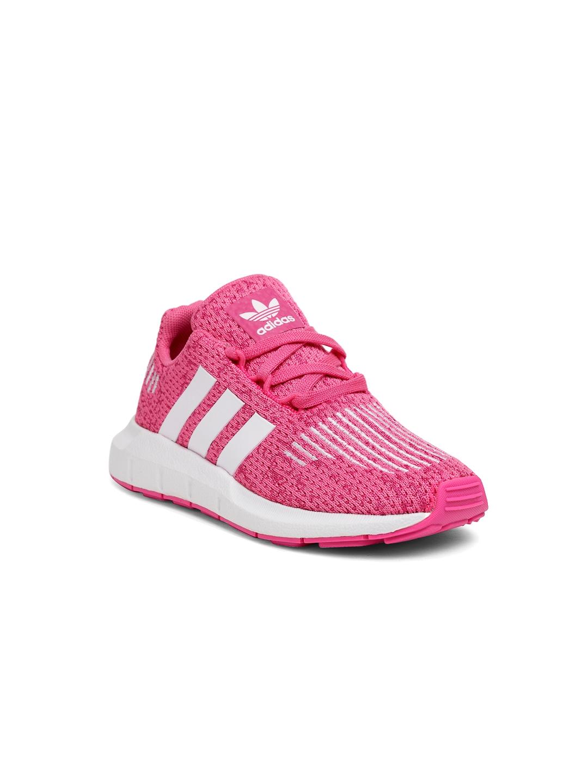 a9faf6035bb Buy ADIDAS Originals Kids Pink Swift Run Running Shoes - Casual ...