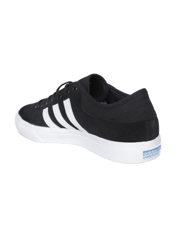 Buy ADIDAS Originals Men Black Matchcourt Skateboarding Shoes ... 80bd1cf5a
