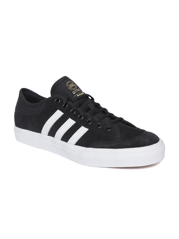 ADIDAS Originals Men Black Matchcourt Skateboarding Shoes