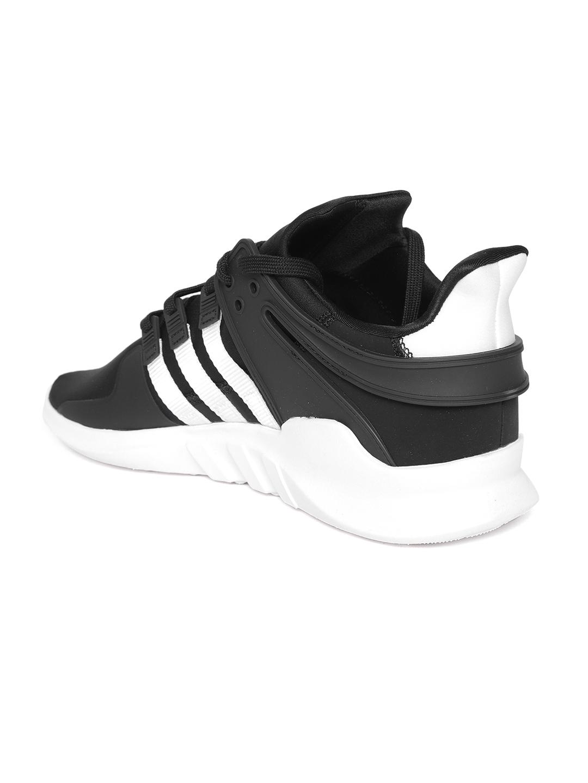huge discount 06f3a f5b7d Buy ADIDAS Originals Men Black EQT Support ADV Sneakers ...