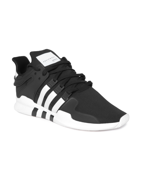 093debefd193 Buy ADIDAS Originals Men Black EQT Support ADV Sneakers - Casual ...