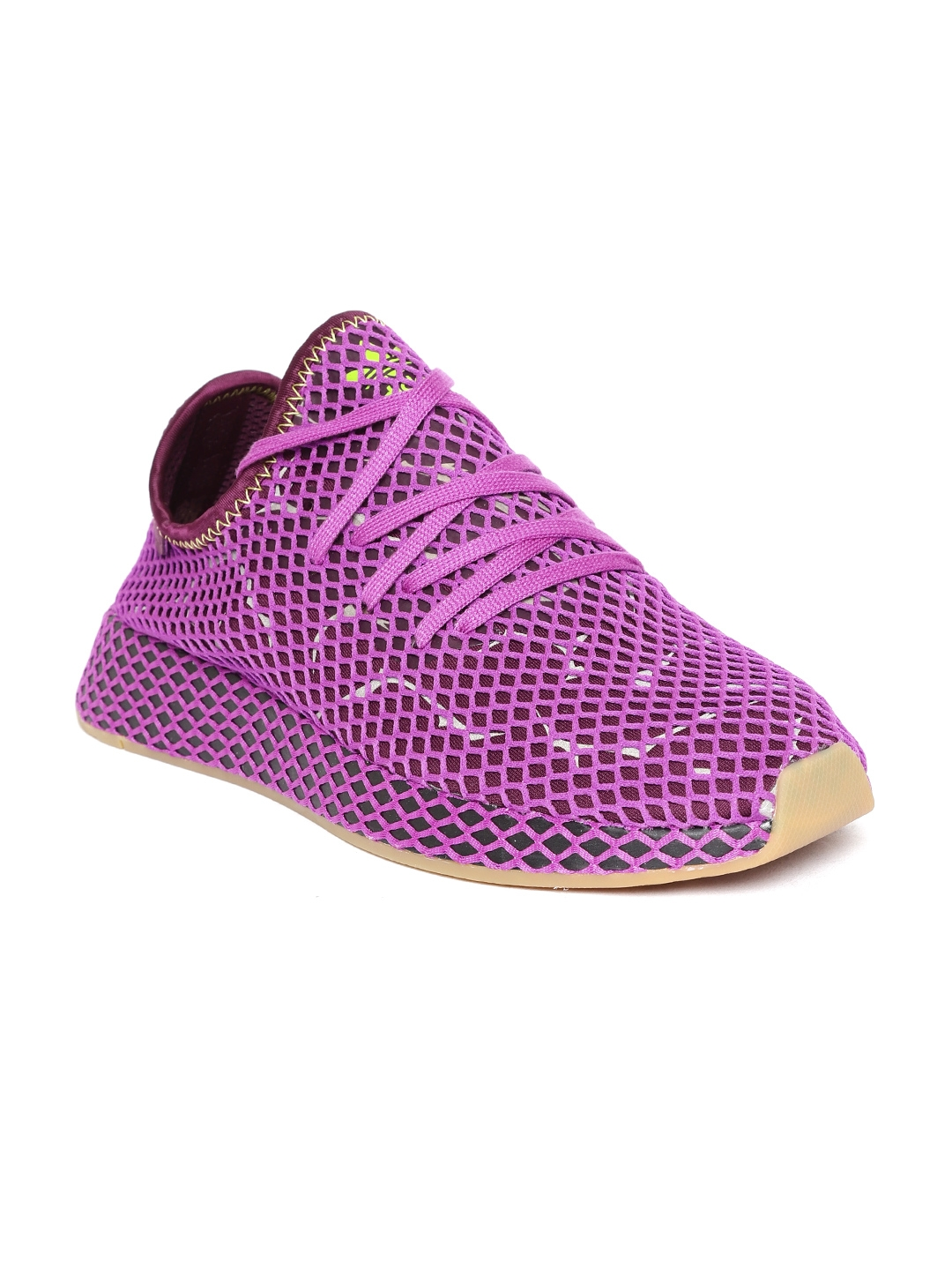 e00041f4d23a4 Buy ADIDAS Originals Men Purple Deerupt Runner Shoes - Casual Shoes ...