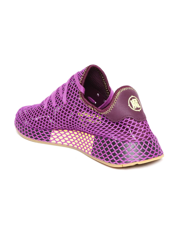 0d46416aad080 Buy ADIDAS Originals Men Purple Deerupt Runner Shoes - Casual Shoes ...