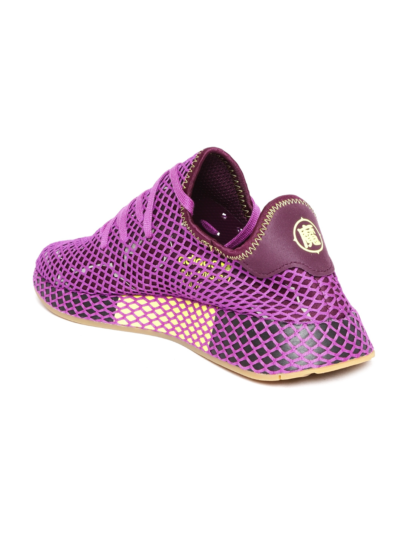 4ac7d86a43856 Buy ADIDAS Originals Men Purple Deerupt Runner Shoes - Casual Shoes ...
