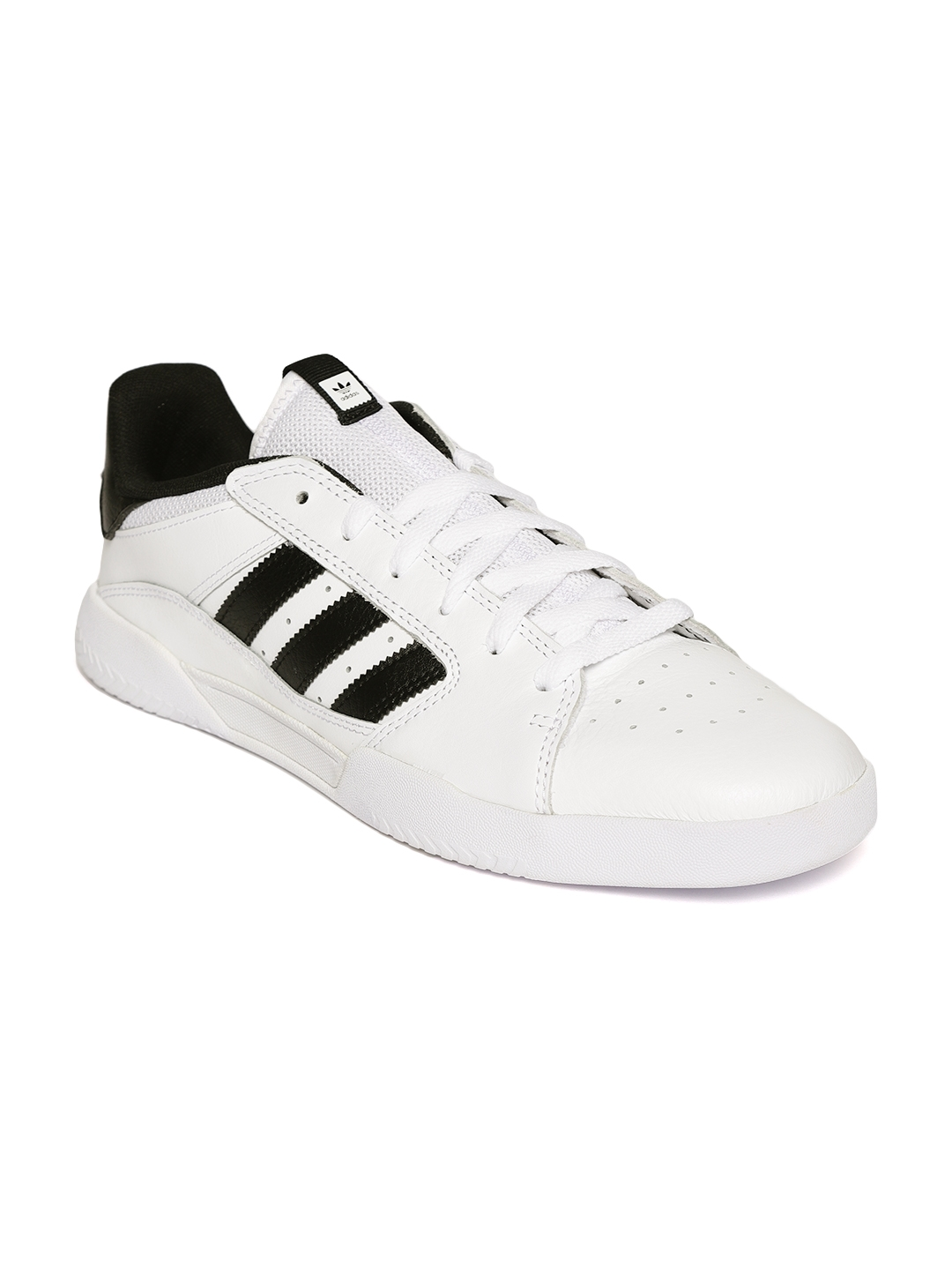 6cd315bd5ec1 Buy ADIDAS Originals Men White VRX Low Leather Sneakers - Casual ...