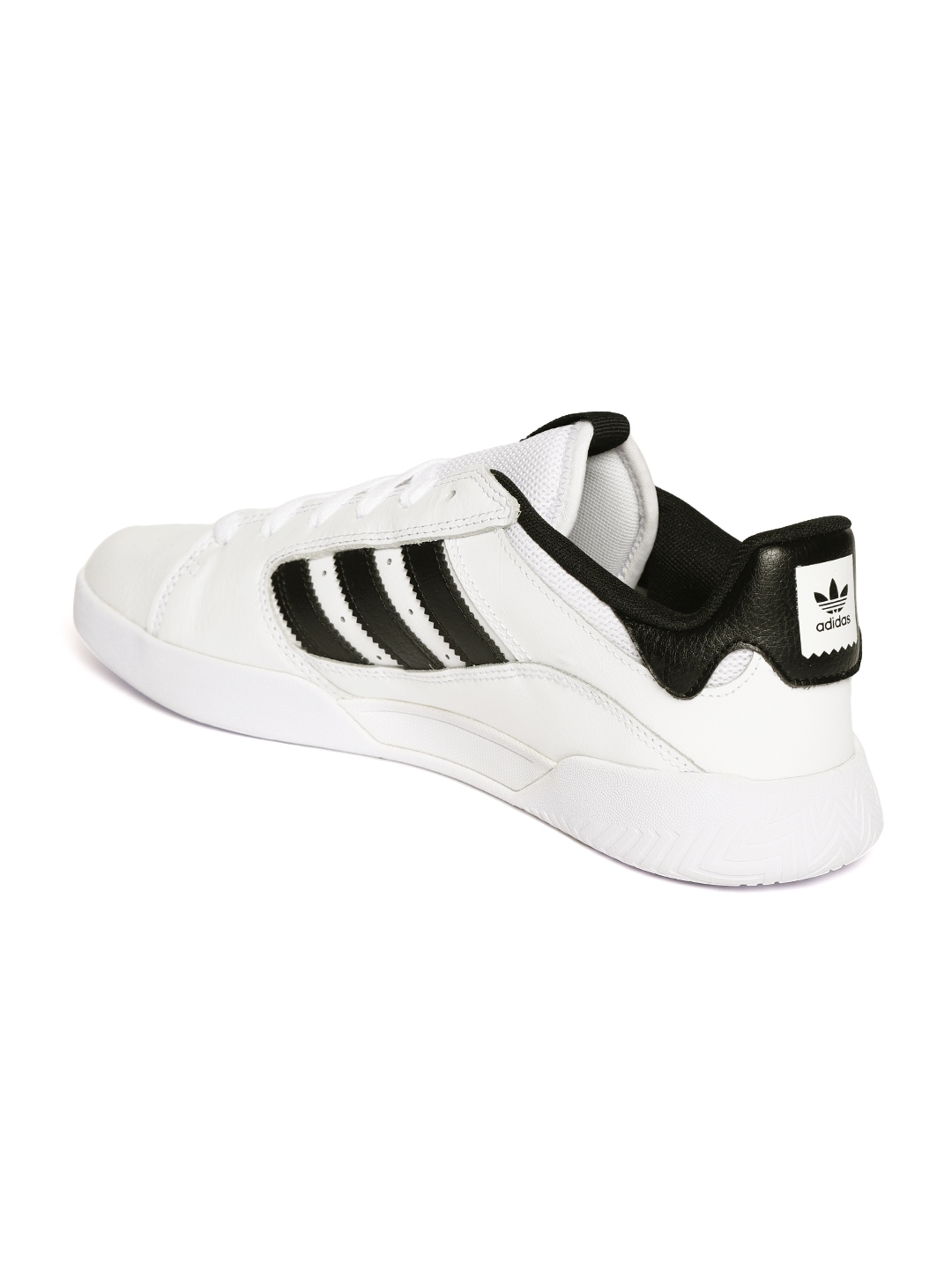 8fcff8f5577c8 Buy ADIDAS Originals Men White VRX Low Leather Sneakers - Casual ...