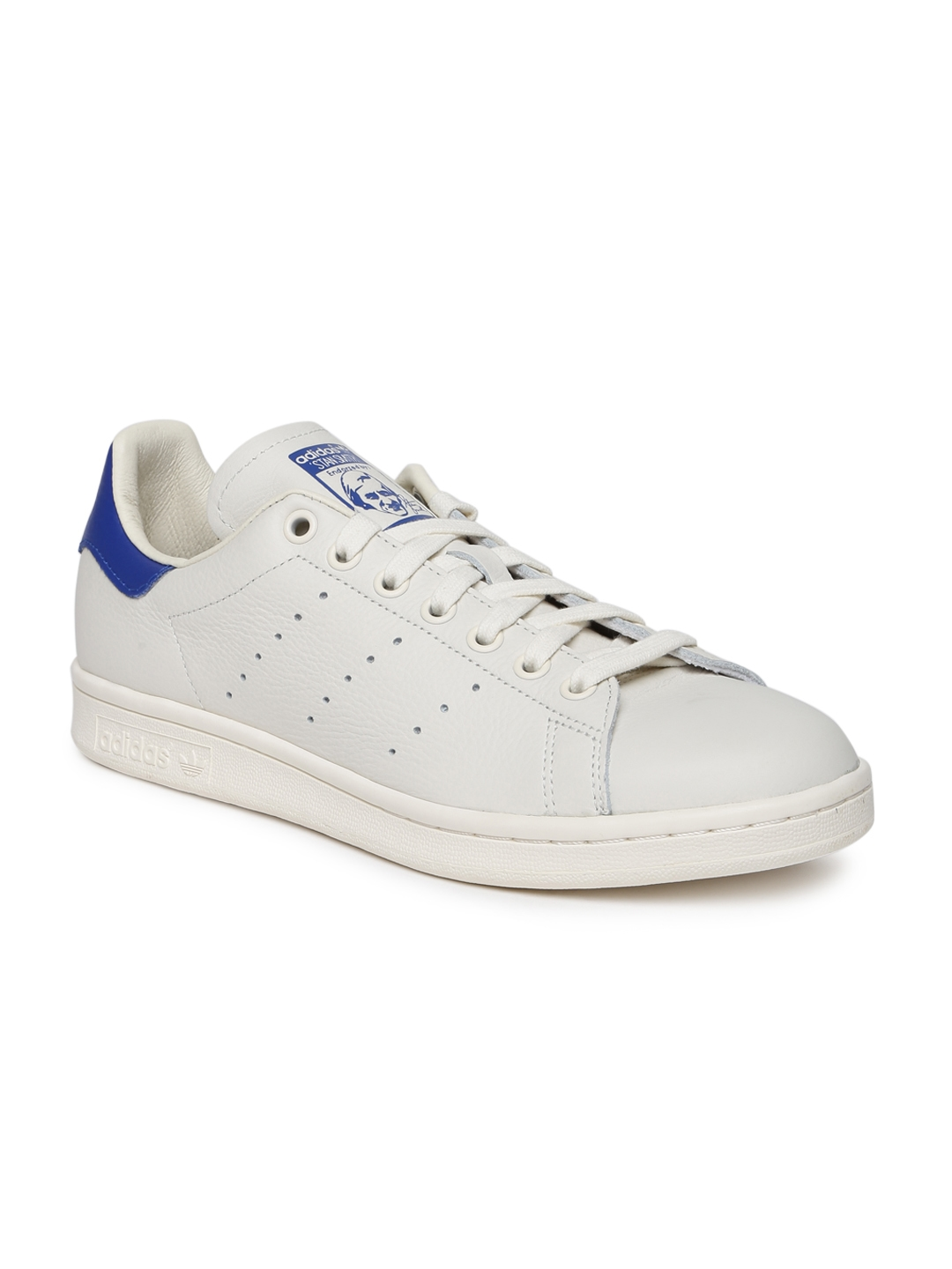 a6ebb4069 ADIDAS Originals Men STAN SMITH White Perforated Leather Sneakers