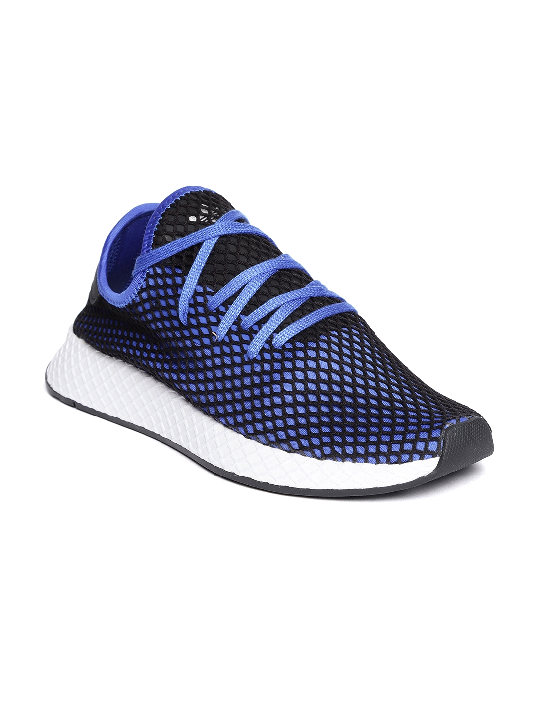 f140ebe0fc0e7 Buy Adidas Originals Men Blue   Black DEERUPT Runner Sneakers - Casual Shoes  for Men 6842441